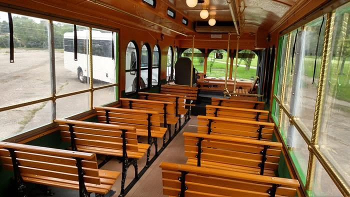 Providence Rhode Island Wedding Trolley